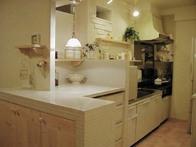 写真:NO.25邸 白をふんだんに使ってマンションリフォーム