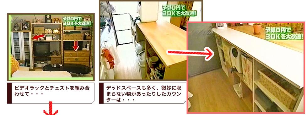 手作りのキッチンカウンター